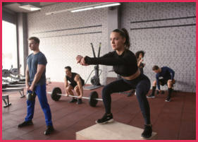 Group Training Program to get healthy and fit!